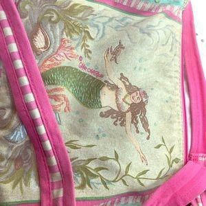 Kate McRostie canvas midi shoulder purse